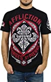 【並行輸入品】Affliction Georges St-Pierre GSP Authority T-Shirt [Black] Large