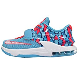 NIKE KD VII (GS) Youth Boys Girls Basketball Shoes 669942-401 (6Y)