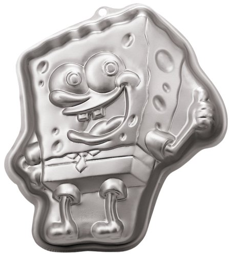 Wilton SpongeBob Square Pants Cake Pan (Birthday Cake Pans For Kids compare prices)