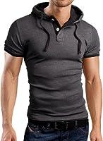 Grin&Bear SLIM FIT Poloshirt T-Shirt Kapuzenshirt, GB105