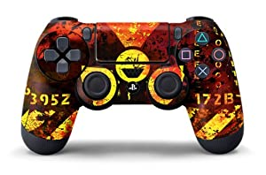 PS4 Controller Designer Skin for Sony PlayStation 4 DualShock Wireless Controller - Meltdown