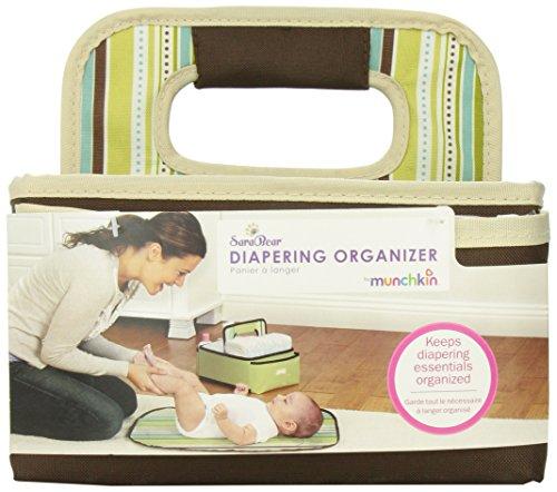 SaraBear Baskets Munchkin Diapering Organizer-Brown image