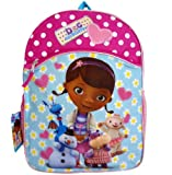 Disney Doc Mcstuffins 16 Inch Large Backpack School Bookbag