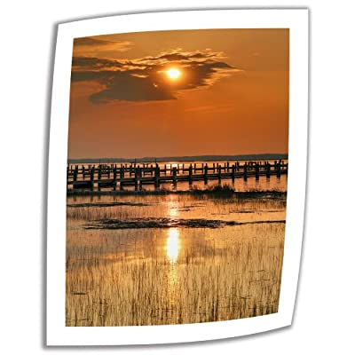 Art Wall 'Sunset Bay' Unwrapped Canvas Artwork by Steve Ainsworth