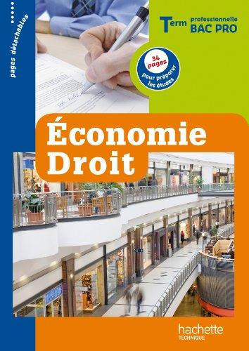 Economie droit term bac pro livre eleve ed 2012 - Programme bac pro cuisine ...