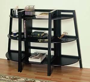 3 Pcs Small Bookcase Set Bookcase Ladders