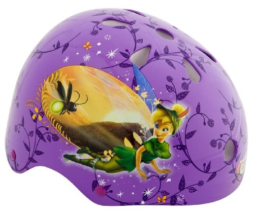 Fairies Child Pacific Disney Tinkerbell Hardshell Helmet and Pads