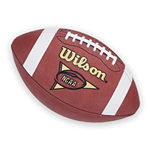Wilson NCAA 1005 Traditional American Football - Brown