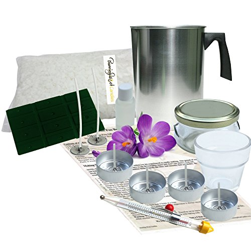 Natural Soy Scented Candle Making Kit