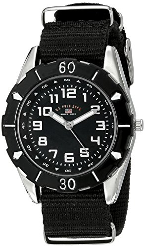 us-polo-assn-kids-usb75027-stainless-steel-watch-with-black-nylon-strap