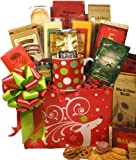 Delight Expressions® Dashing Reindeer Holiday Gourmet Food Gift Box - A Christmas Gift Basket Idea!!