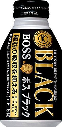 [トクホ]ボスブラック 280mlボトル缶×24本