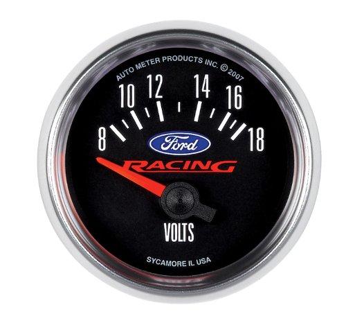 Auto Meter 880081 Ford Racing Series Electric Voltmeter Gauge