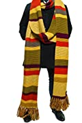 Doctor Who 4th Doctor (Tom Baker) Scarf 18 ft Long Season 16 - 17 - Buy Official BBC Fourth Doctor Scarf by LOVARZI