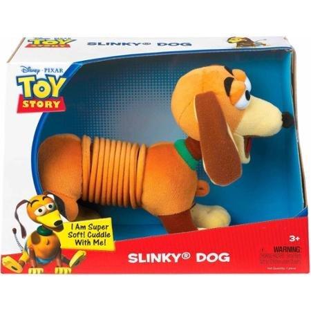 Disney Pixar Toy Story Plush Slinky Dog, Classic Slinky Toy Mid-Section
