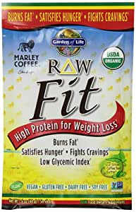 Buy Garden Of Life Raw Fit Protein Marley Coffee 10 Count Tray Online At Low Prices In India