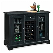 Big Sale Best Cheap Deals Home Style 5531-99 Bedford Bar Cabinet, Black