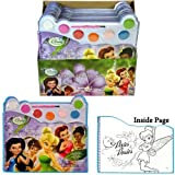 Disney Fairies Water Paint Set - Story Book Paint and Design
