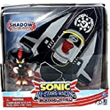 Sonic All-Stars Racing Transformed Shadow The Hedgehog With Plane Action Figurine