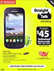 Samsung Galaxy Ace Style Powered By Andriod (Straight Talk Wireless)