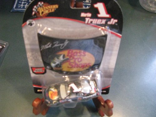 2006 Martin Truex #1 Bass Pro Shop Tracker Boats Dale Earnhardt Inc DEI Owned Car 1/64 Scale Diecast Winners Circle With Magnet Replica Hood