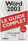 echange, troc Guy Deschamps - Word 2003
