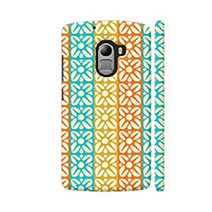 Colorpur Floral Fabric Texture Designer Mobile Phone Case Back Cover For Lenovo Vibe K4 Note | Artist: Designer Chennai