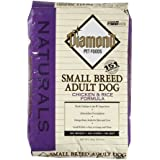Diamond Naturals Dry Food for Adult Dogs, Small Breed Chicken and Rice Formula, 18 Pound Bag