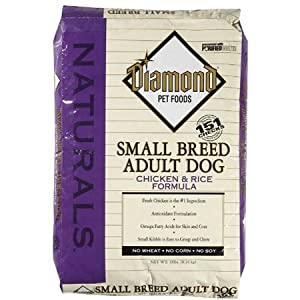 Diamond Naturals Dry Food for Adult Dogs, Small Breed