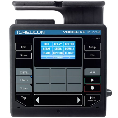 Tc Helicon Voicelive Touch 2 W/ Ath-M50S Monitoring Headphones