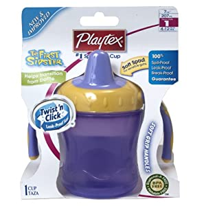 Playtex 倍儿适 宝宝儿童鸭嘴学饮杯