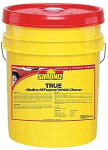 Simoniz T3830005 True All-Purpose Pressure Washing Liquid, 5 gal Pail per Case
