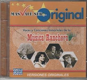 Voces Y Canciones Inmortales De La Musica Ranchera [Amalia Mendoza,lola Beltran,lucha Villa,federico Villa Y Varios Mas]