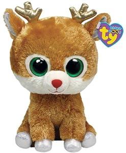 Amazon Com Ty Beanie Boos Alpine Reindeer Medium Toys