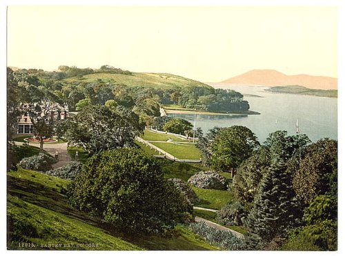 Bantry Bay. Co. Cork, Ireland wall sized poster (photochrom) photochrome measured in inches