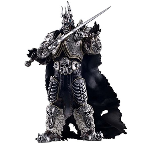 World of Warcraft Deluxe Collector Action Figure: The Lich King Arthas Menethil 7 Inches