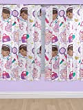 Disney 72-inch Doc McStuffin Hugs Curtains, Multi-Colour