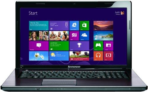 Lenovo G780 17.3 inch laptop - Dark Bronze (Intel Core i7 3612QM 2.1GHz, 8Gb RAM, 1Tb HDD, Blu-ray, Nvidia Graphics, Windows 8)