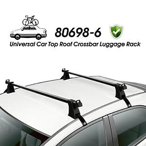 Amazon Com Universal Car Top Roof Cross Bar Crossbar