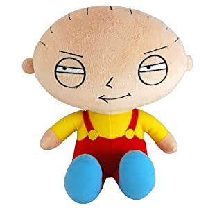Family Guy Small Plush with Sound - Stewie by Family Guy