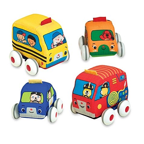 4-Vehicles-Ks-Kids-Soft-Pull-Back-Vehicles-By-Melissa-Doug