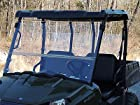 Bad Dawg Full Folding Windshield for 2010-14 Mid Size Polaris Ranger 400/500/570/800/EV and 500/570 Crew