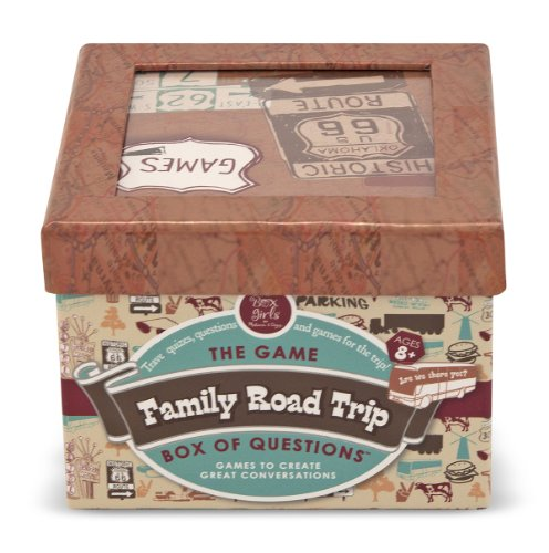 Melissa & Doug Family Road Trip Box Of Questions - 1