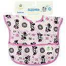 Bumkins Disney Baby Waterproof Super Bib, Minnie Spring, 6-24 Months