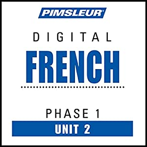 French Phase 1, Unit 02 Audiobook