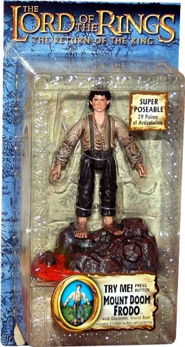 Lord Of The Rings Return of the King Collectors Series Action Figure Mount Doom Frodo
