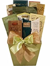 Delight Expressions™ Thinking of You Gourmet Food Gift Basket (Small) - A Birthday or Get Well Gift - A Christmas Gift Idea!