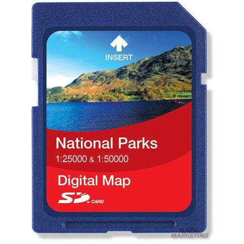 Satmap National Park 1:25000/1:50000 Cotswolds