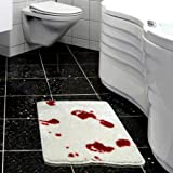Psycho Bloodied Blood Bath Mat