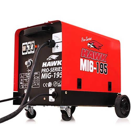 hawk-tools-mig-195-gas-gasless-auto-flux-solid-copper-wire-feed-welder-portable-electric-welding-mac